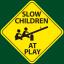 SL0W CHILDREN AT PLAY