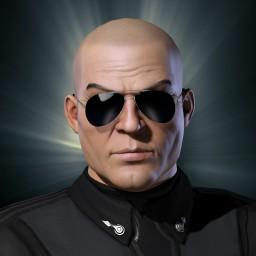 Battlestar Commander Cain