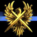 Great Golden Phoenix Rising