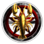 Dark Crimson Elite Knights Templars of Darkness