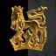 dat gold lion