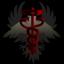 Schwarzer Adler Rote Schlange