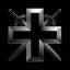 Gray legion of a cross