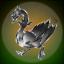 cast iron goose