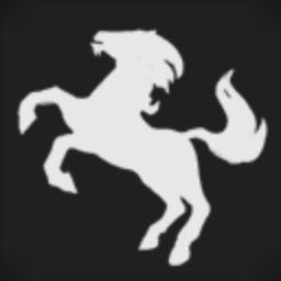 Latte is Horse Guard
