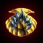 Fiery clam bait