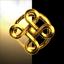 Gold Rose Triad