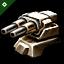 Domination 1200mm Artillery