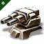 Domination 1400mm Howitzer Artillery
