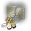 Serpentis Brass Tag