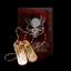 Dark Blood Copper Tag