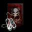 Dark Blood Diamond Tag