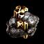 Crystalline Crokite