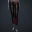 Women's 'Excursion' Pants (black/red/gold)