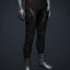 Men's 'Commando' Pants (red/black)