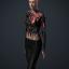 Women's 'RubySet TorsoRig' Body Augmentation